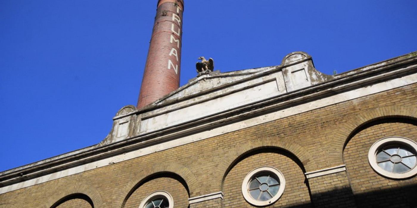Craft beer festival at the Old Truman Brewery